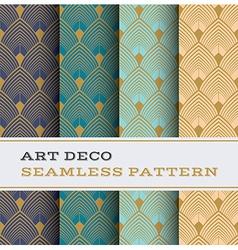 Art deco seamless pattern 03 vector