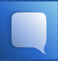 chat background blue art creatuve vector image