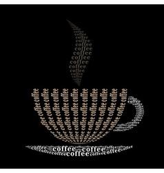 Coffee cup9 vector image vector image