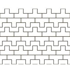 Korean seamless pattern vector image vector image