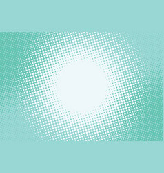 Turquoise green background lighting in the centre vector