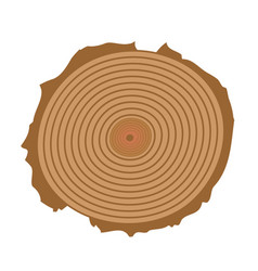 Tree cut tree cut realistic icon vector
