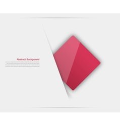 Abstract background square red vector