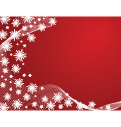 snowy abstract vector image
