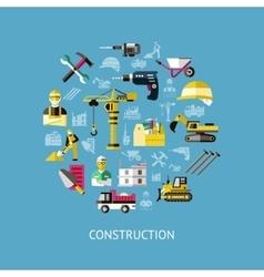 Construction round composition vector