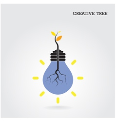 Creative and knowledge tree concept vector