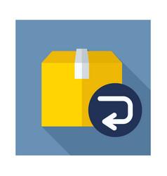 Return purchase icon vector