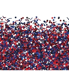Seamless texture with red and blue glitters vector image vector image