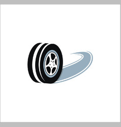 Tire logo vector