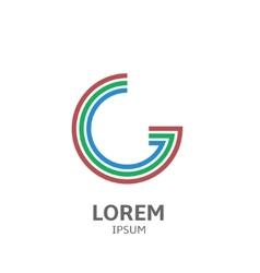 LOREM ipsum G vector image vector image