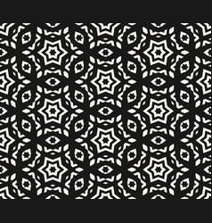 ornamental seamless pattern stars pattern vector image vector image