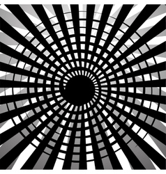 Sunburst in black and white colors design vector image
