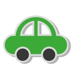 Car auto sedan icon vector