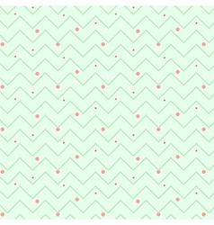 Zigzag christmas pattern vector