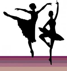 Pairs dancing vector