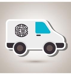 Car news design vector