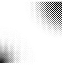 monochrome abstract halftone dot pattern vector image