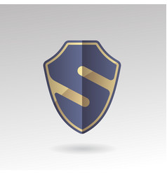 security emblem s sign vector image