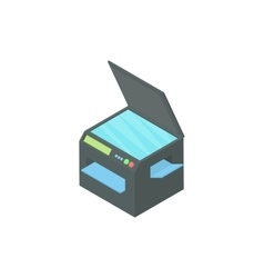 Printer 3 in 1 icon cartoon style vector image