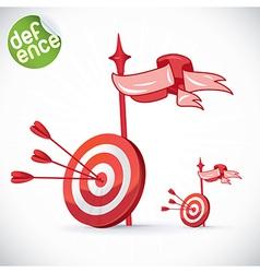 Bulls Eye vector image