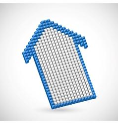 Pixel Arrow vector image