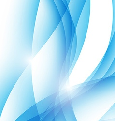 Modern abstract wave border ray line background vector