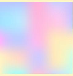 Stylish holographic background vector