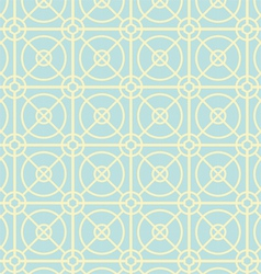 Circle and square pattern on pastel color vector