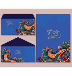 special beautiful design for greeting card vector image