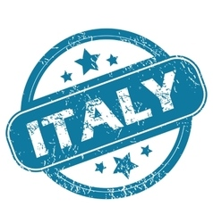 ITALY round stamp vector image
