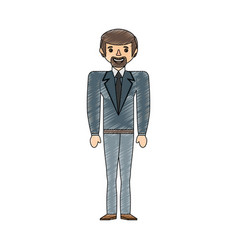 Drawing man male father image vector