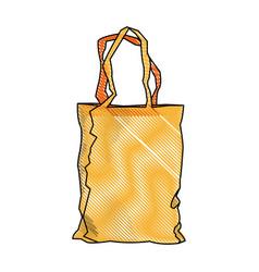 shopping bag market commerce pack image vector image
