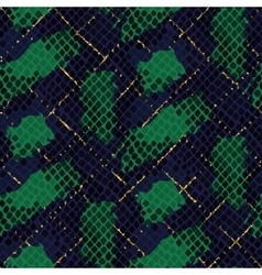 Snake skin green artificial seamless vector