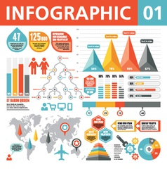 Infographic elements 01 vector