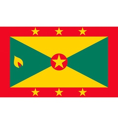 grenadian flag vector image