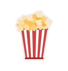 Pop corn icon food design graphic vector