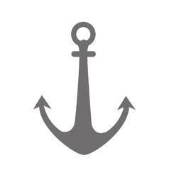Anchor ocean hook icon graphic vector
