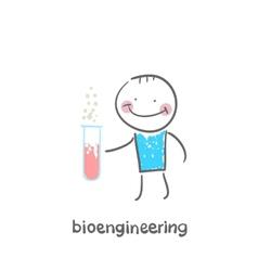 bioengineer vector image vector image