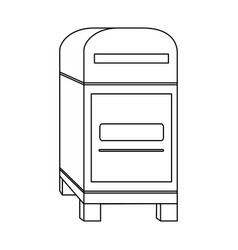 Mailbox mail icon image vector