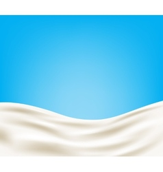 Milk background vector image