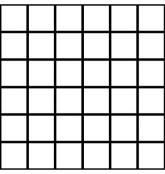 Black white grid chess board background vector