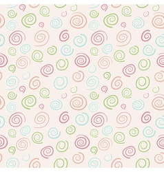 Abstract retro swirls vector