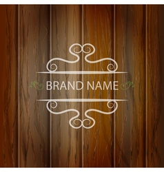 Wooden texture background vector