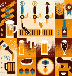 Beer Concept vector image vector image