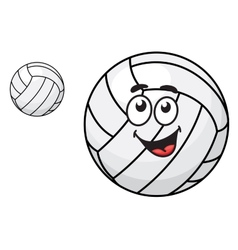 Cartoon volleyball ball vector