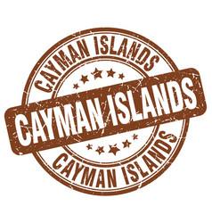 Cayman islands stamp vector