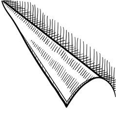 doodle corner curl page vector image vector image