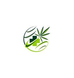 medical herbal vector image vector image