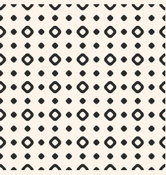 polka dot seamless pattern simple texture vector image vector image
