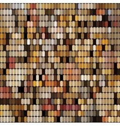 Bright colorful mosaic seamless pattern vector